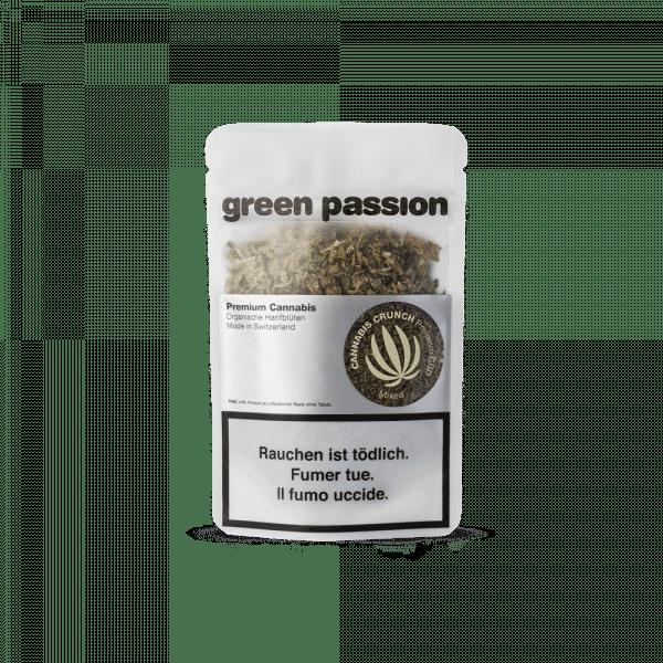 Green Passion Cannabis Crunch, Trim de CBD