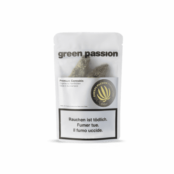 Green Passion Cheesy Passion, Fleurs CBD
