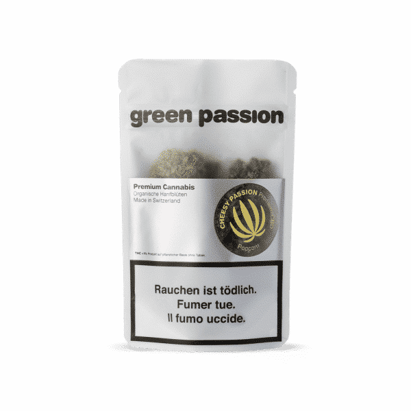 Green Passion Cheesy Passion Popcorn