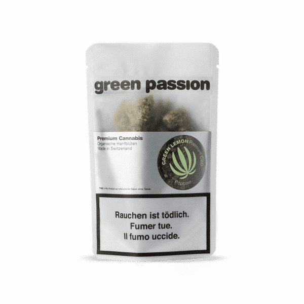 Green Passion Green Lemon, Fleurs CBD