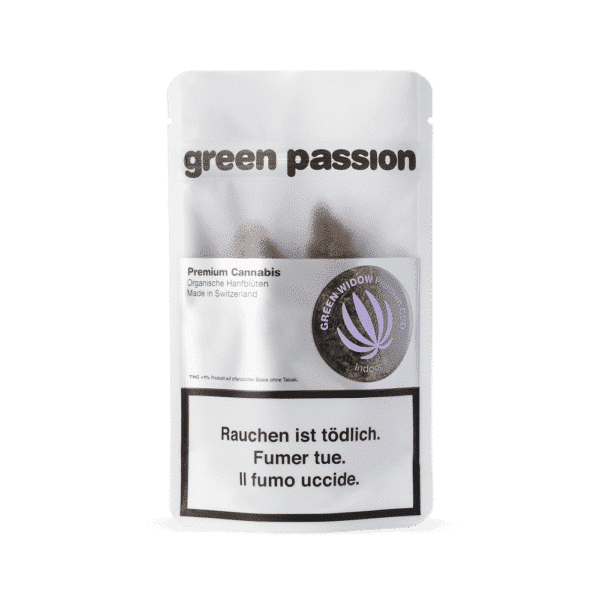 Green Passion Green Widow, CBD Flowers