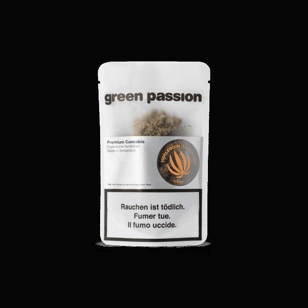Green Passion Harlequin, CBD Blüten