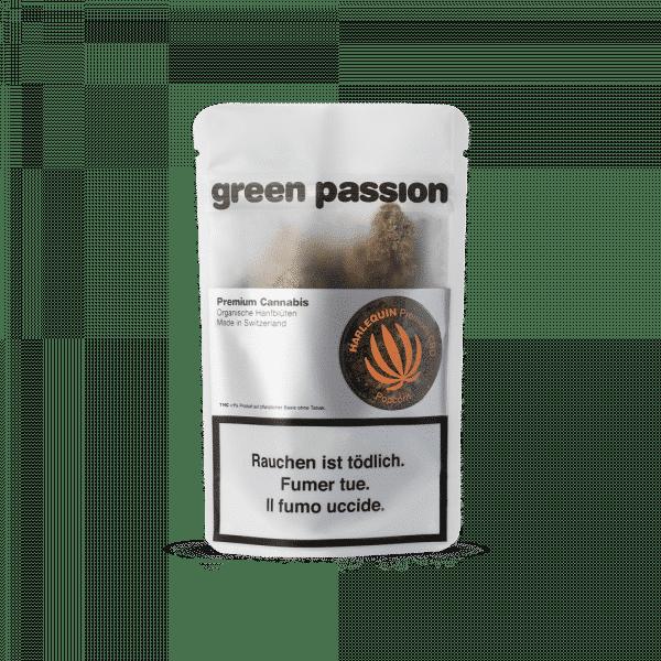 Green Passion Harlequin Popcorn, Petites Fleurs