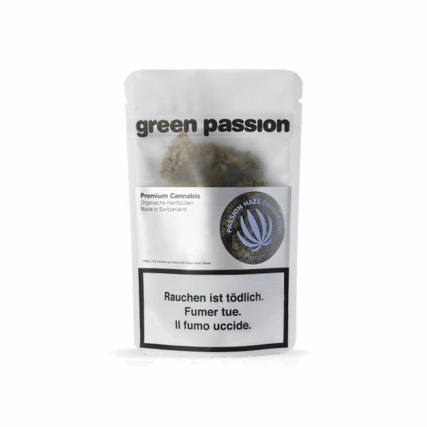 Green Passion Passion Haze Popcorn