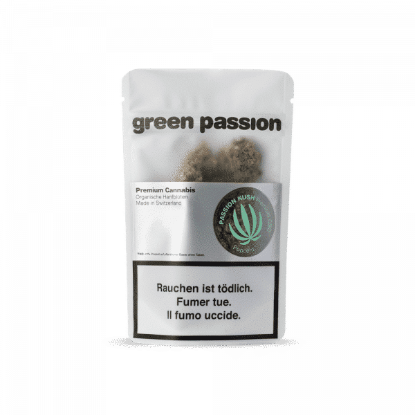 Green Passion Passion Kush, CBD Flowers
