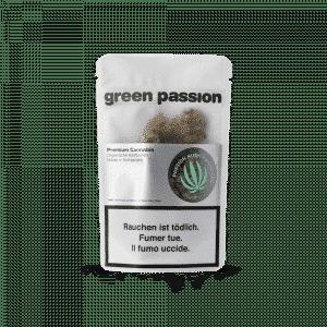 Green Passion Passion Kush Popcorn, Petites Fleurs