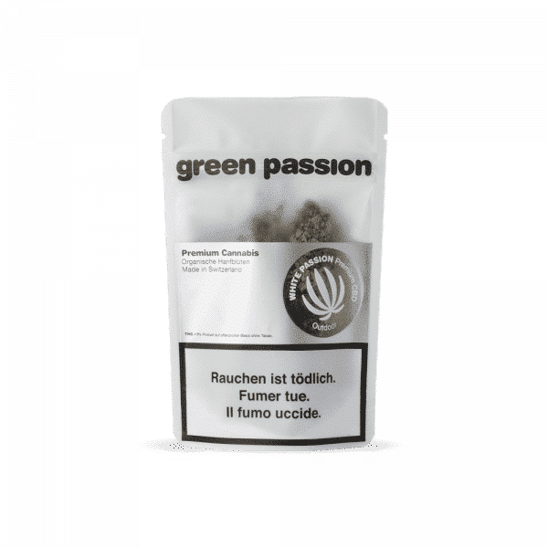 Green Passion Outdoor White Passion, CBD Flowers