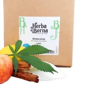 Herba di Berna Sirop d'hiver au Jus de Pomme et Cannelle, Sirops