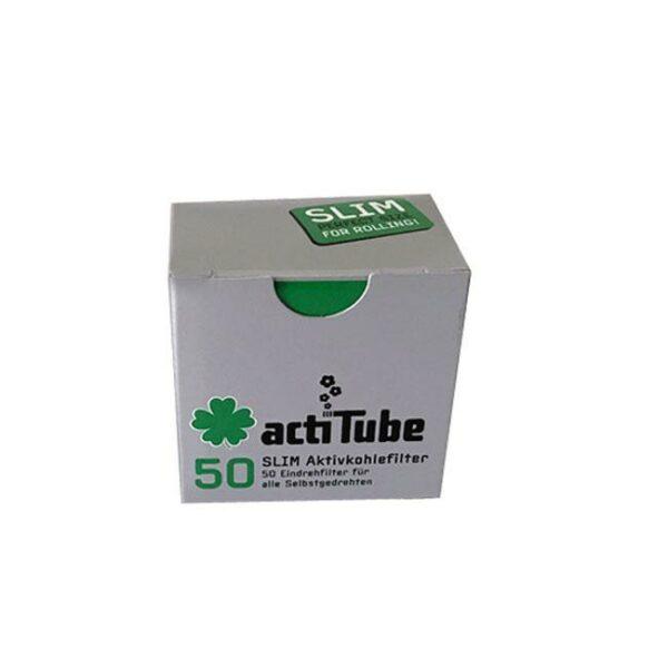 actiTube Slim Aktivkohlefilter, Joint Filter