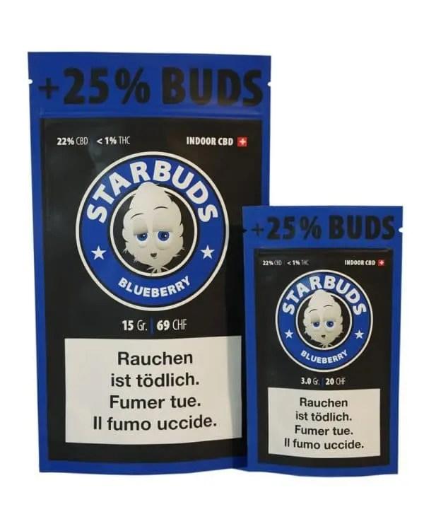 Starbuds Blueberry, CBD Flowers