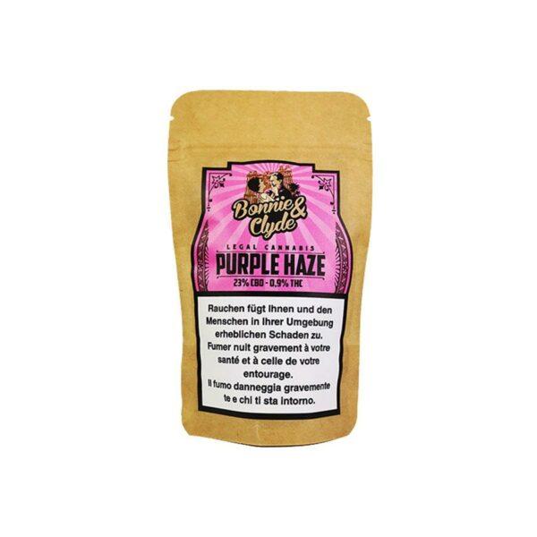 Bonnie & Clyde Purple Haze, CBD Flowers
