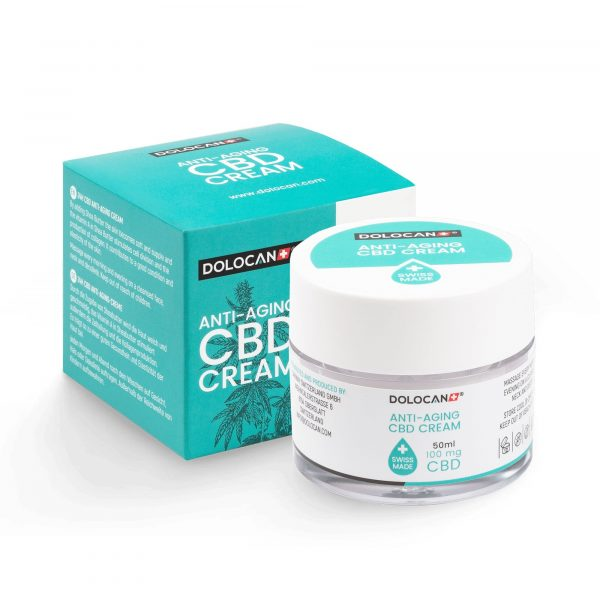 Dolocan CBD Anti-Aging Creme, Gesichtspflege