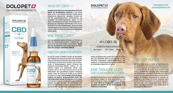Dolopet CBD Drops for Dogs 1, CBD Oils for Pets