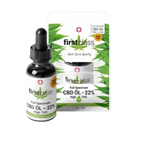 First Class CBD High-THC Swiss CBD Oil 22% 1, CBD Oil