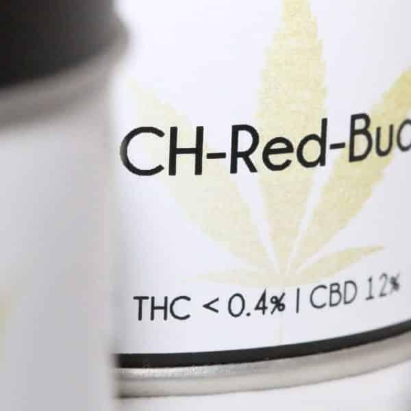 Genuine Swiss Swiss Red Bud 3, Fleurs CBD