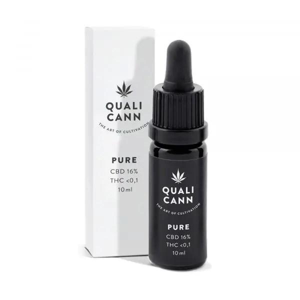Qualicann Pure 16% - Huile de CBD (1600mg), Huile CBD