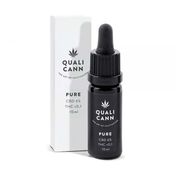 Qualicann Pure 6% - CBD Öl, CBD Öl