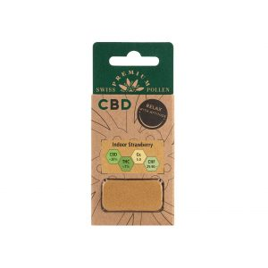 Swiss Premium Pollen Indoor Strawberry CBD Pollen (Limited Edition), CBD Pollen