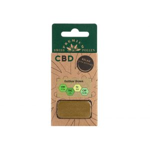 Swiss Premium Pollen Outdoor Brown CBD Pollen, CBD Pollen