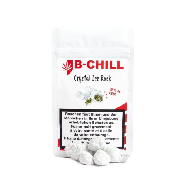B-Chill Crystal Ice Rock, CBD Flowers