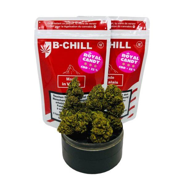 B-Chill Royal Candy, CBD Crystals
