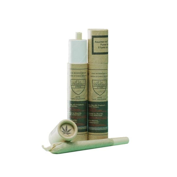 D'la Vaudoise Pre-Rolled Joint Crystal Queen, Pre-Rolled Joints