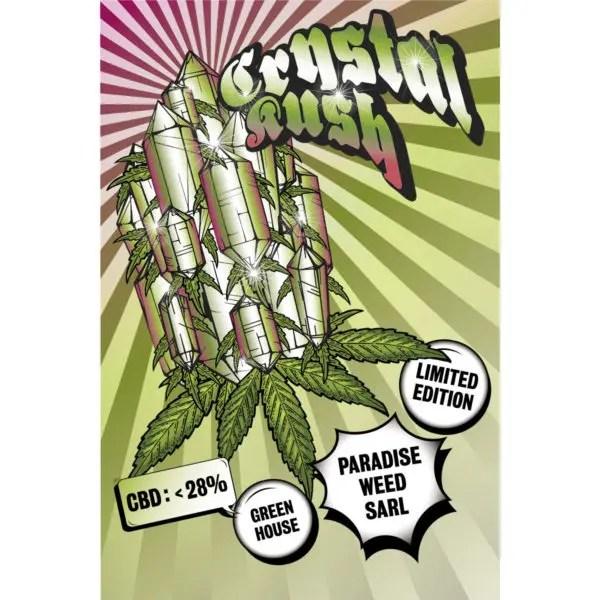 Paradise Weeds Crystal Kush Greenhouse, CBD Blüten