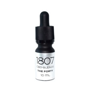 1807 Blends The Forty, Huile CBD