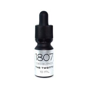 1807 Blends The Twenty, Huile CBD
