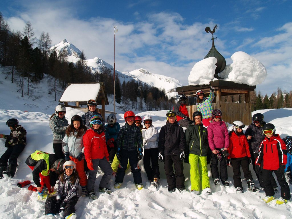 The first ski camp in Austria