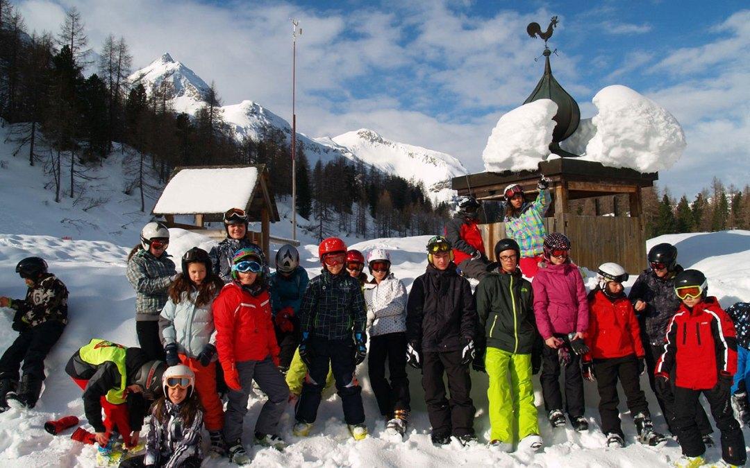 Първи ски лагер в Австрия
