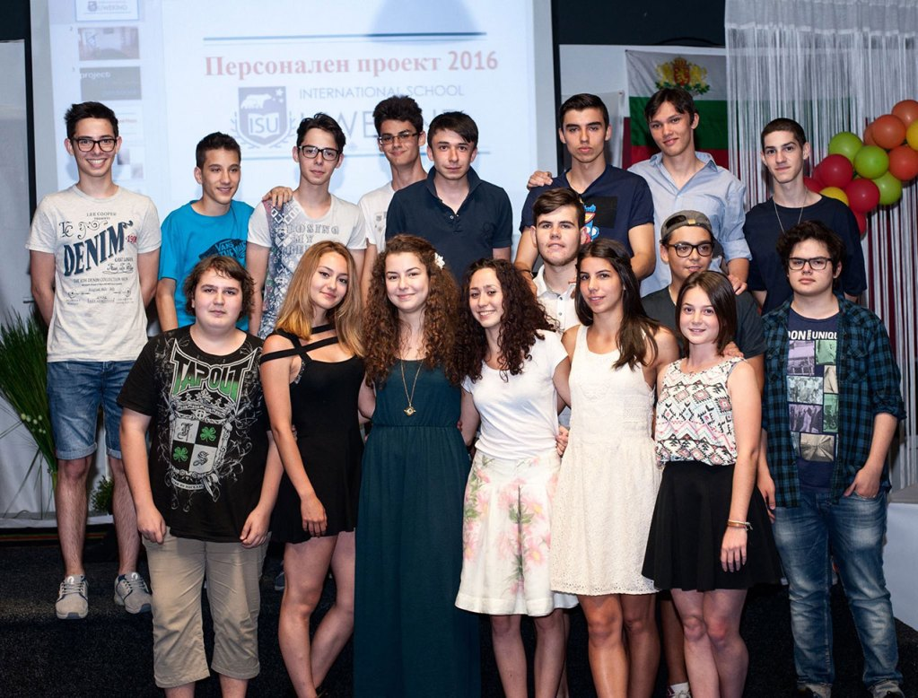 Graduation of the first MYP class