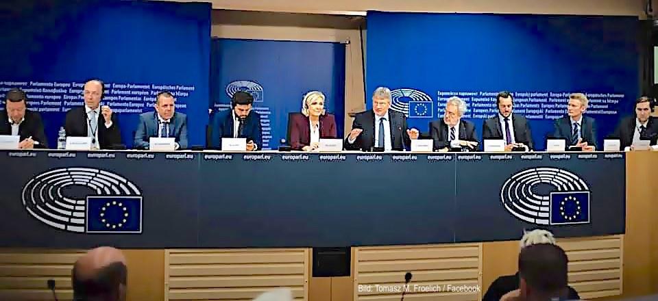 Es ist mir egal, ob es Juncker gefällt, nun ist sie da, die Rechtsfraktion im EU-Parlament