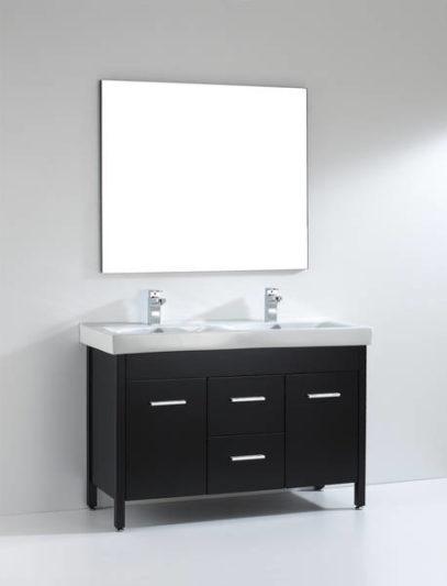 48 in double sink vanity. Almandine 48  Double Sink Vanity UWeX