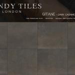 Gitane Dark Cashmere by Trendy Tiles