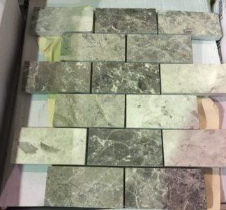 "Valensa Grey 2""x4"" Mosaic - Wall Tile / Backsplash"