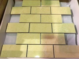 "Crema Luna 2""x4"" Mosaic - Wall Tile / Backsplash"