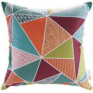 Priest River Mosaic pillow - home decoration