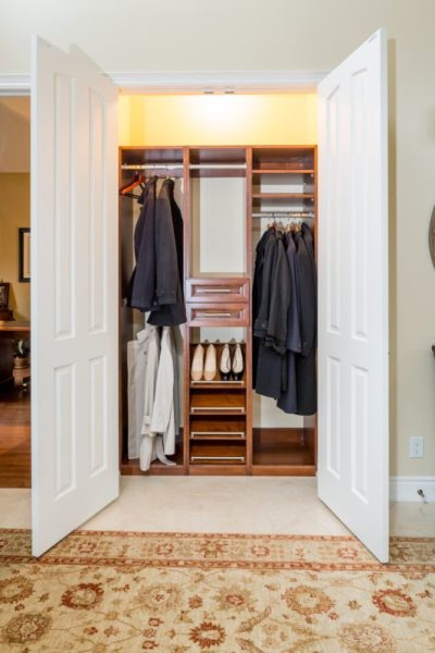 Entry Closet by Parsons Interiors
