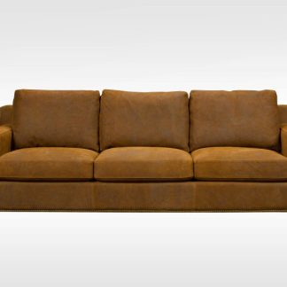 Prentice leather sofa by Brentwood Classics