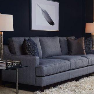 Sloan sofa- Striato Pewter