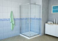 Delta 38x38In Square Shower