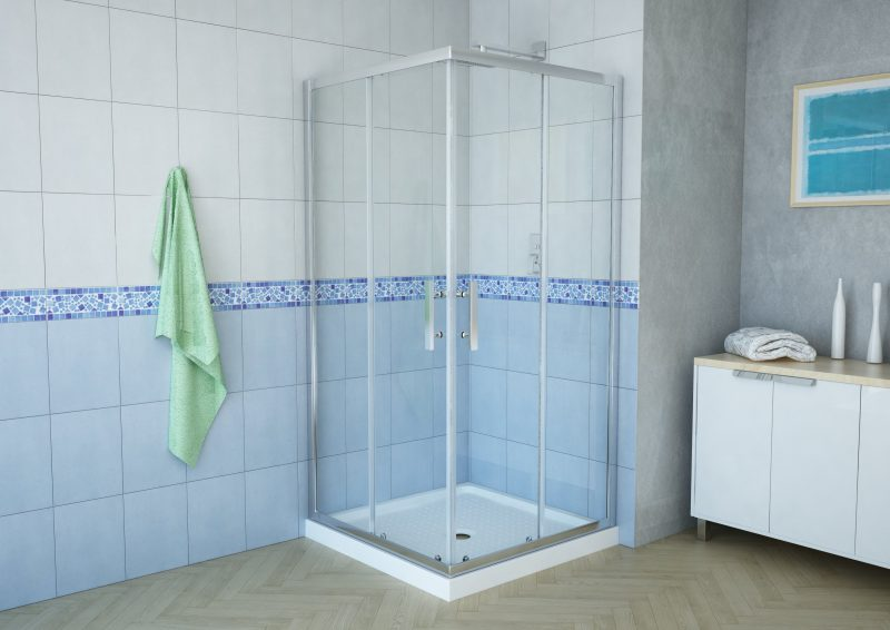 Delta 38 Square Corner Shower Enclosure Uwex