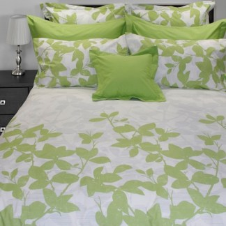 The Green Leaves Collection by Cuddle Down Products (organic)