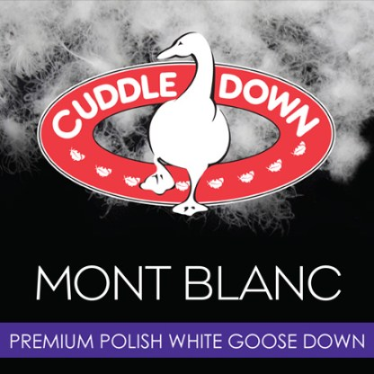 Mont Blanc Down by Cuddle Down Products