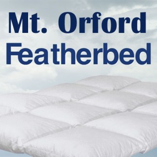 Mt. Orford Featherbed by Cuddle Down Products