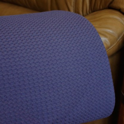 Waffle Weave-Marine by Cuddle Down Products