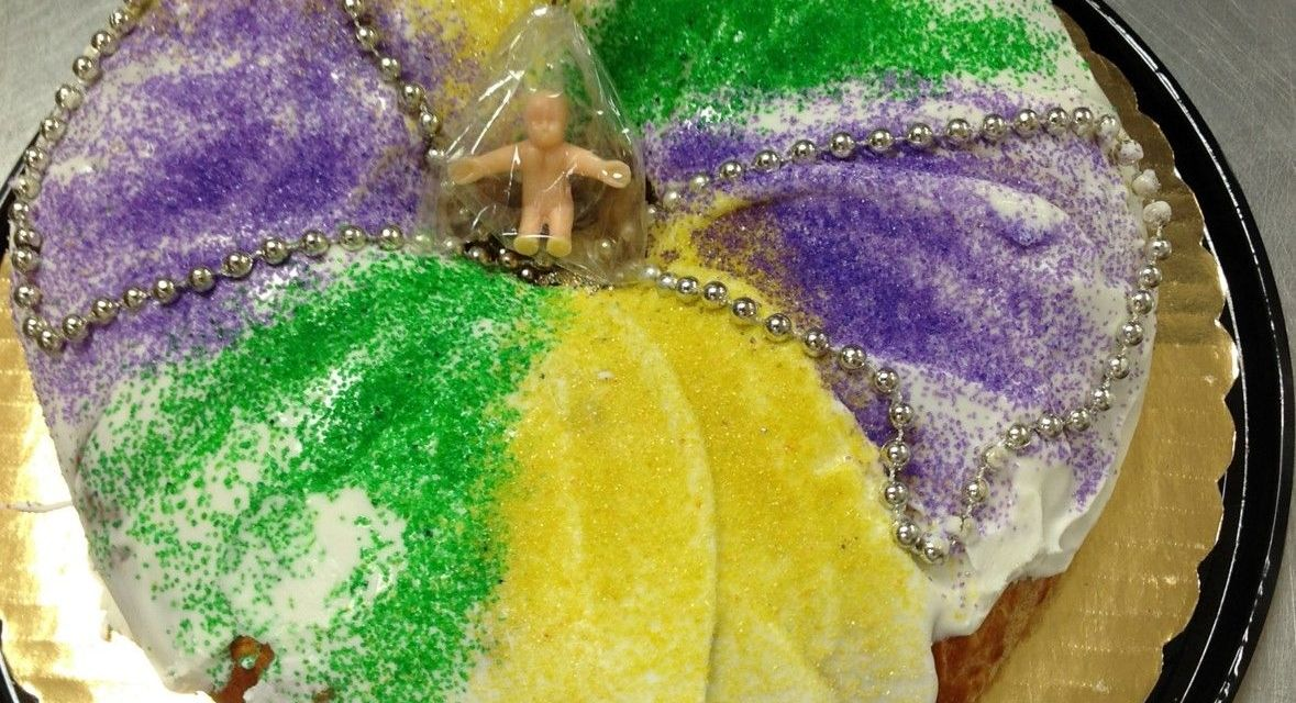 Get your King Cake for Mardi Gras!
