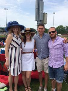Ben at Kentucky Derby