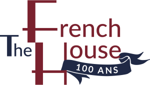 "French House ""100 years"" logo"